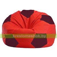 Кресло мешок Мяч красно - бордовое 1.1-180