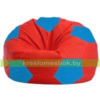 Кресло мешок Мяч красно - голубое 1.1-179