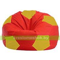 Кресло мешок Мяч красно - жёлтое 1.1-178