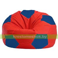Кресло мешок Мяч красно - синее 1.1-172