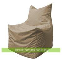 Кресло мешок Фокс Ф2.2-01 (Тёмно-бежевый)