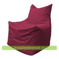 Кресло мешок Фокс Ф2.1-16 (Бордовый)