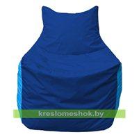 Кресло мешок Фокс Ф 21-129 (василёк - голубой)