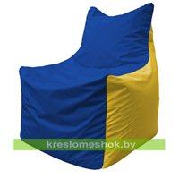 Кресло мешок Фокс Ф 21-128 (василёк - жёлтый)
