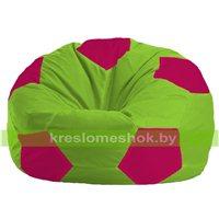 Кресло мешок Мяч салатовый - фуксия 1.1-154