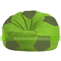 Кресло мешок Мяч салатово - оливковое 1.1-164