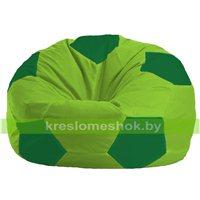 Кресло мешок Мяч салатово - зелёное 1.1-166