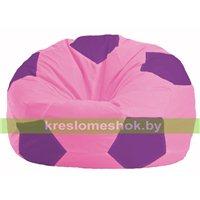 Кресло мешок Мяч розовый - сиреневый М 1.1-194
