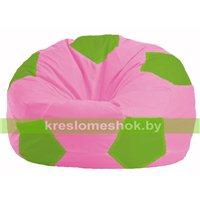 Кресло мешок Мяч розовый - салатовый М 1.1-197