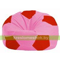 Кресло мешок Мяч розовый - красный М 1.1-199