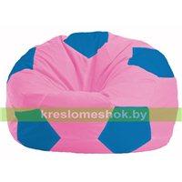 Кресло мешок Мяч розовый - голубой М 1.1-202