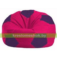 Кресло мешок Мяч малиновый - фиолетовый М 1.1-380