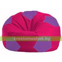 Кресло мешок Мяч малиновый - сиреневый М 1.1-376
