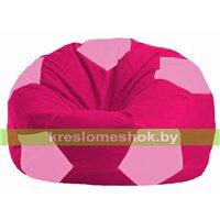 Кресло мешок Мяч малиновый - розовый М 1.1-389