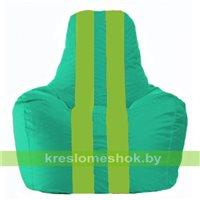 Кресло-мешок Спортинг бирюзовый - салатовый С1.1-294