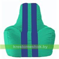 Кресло-мешок Спортинг бирюзовый - синий С1.1-291
