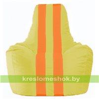 Кресло-мешок Спортинг жёлтый - оранжевый С1.1-258