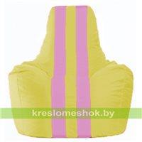 Кресло-мешок Спортинг жёлтый - розовый С1.1-257