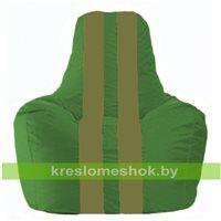 Кресло-мешок Спортинг зелёный - оливковый С1.1-462
