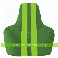 Кресло-мешок Спортинг зелёный - салатовый С1.1-241