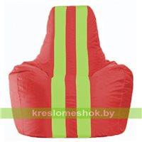 Кресло-мешок Спортинг красный - салатовый С1.1-457
