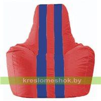 Кресло-мешок Спортинг красный - синий С1.1-172