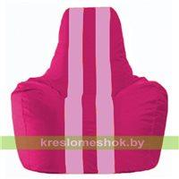 Кресло-мешок Спортинг лиловый - розовый С1.1-389