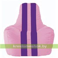 Кресло-мешок Спортинг розовый - фиолетовый С1.1-191