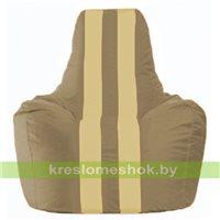 Кресло мешок Спортинг бежевый - светло-бежевый С1.1-87