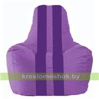Кресло мешок Спортинг сиреневый - фиолетовый С1.1-102