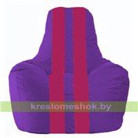 Кресло мешок Спортинг фиолетовый - лиловый С1.1-68