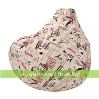 Кресло-мешок Груша Мантин А01