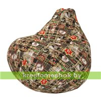 Кресло-мешок Груша Чек А05