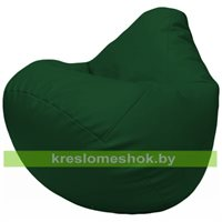 Бескаркасное кресло-мешок Груша Г2.3-01 зелёный