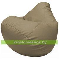 Бескаркасное кресло-мешок Груша Г2.3-02 светло-серый