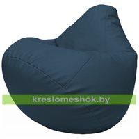 Бескаркасное кресло-мешок Груша Г2.3-03 синий