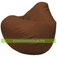 Бескаркасное кресло-мешок Груша Г2.3-07 коричневый