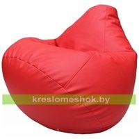 Бескаркасное кресло-мешок Груша Г2.3-09 красный