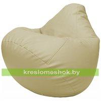 Бескаркасное кресло-мешок Груша Г2.3-10 светло-бежевый