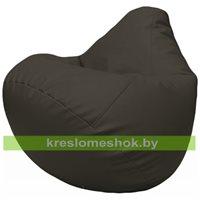 Бескаркасное кресло-мешок Груша Г2.3-16 чёрный