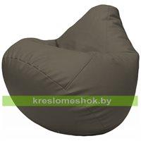 Бескаркасное кресло-мешок Груша Г2.3-17 серый