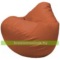 Бескаркасное кресло-мешок Груша Г2.3-23 оранжевый