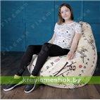 Кресло-мешок Груша Бамбук