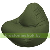 Кресло мешок RELAX тёмно-оливковый