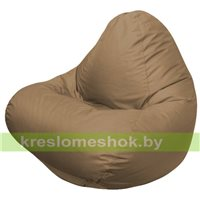 Кресло мешок RELAX тёмно-бежевое