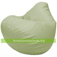 Бескаркасное кресло-мешок Груша Г2.3-04 светло-салатовый