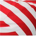 Кресло-мешок Груша Красный Полосатик