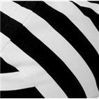Кресло-мешок Груша Черный Полосатик