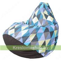 Кресло мешок Груша Romb 06 (фотопринт)