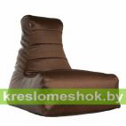 Кресло мешок Бумеранг коричневое